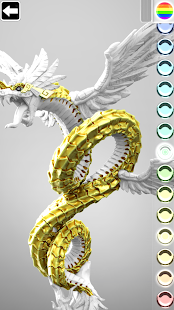 ColorMinis 3D Art Coloring amp Painting Design Game v6.9 screenshots 3