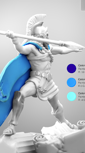 ColorMinis 3D Art Coloring amp Painting Design Game v6.9 screenshots 4