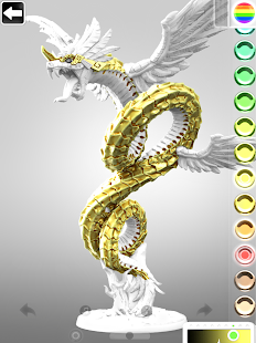 ColorMinis 3D Art Coloring amp Painting Design Game v6.9 screenshots 9