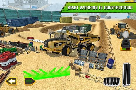 Construction Site Truck Driver v1.3 screenshots 1