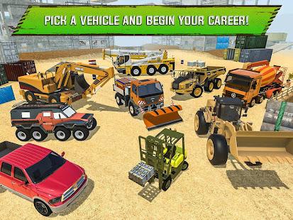 Construction Site Truck Driver v1.3 screenshots 10