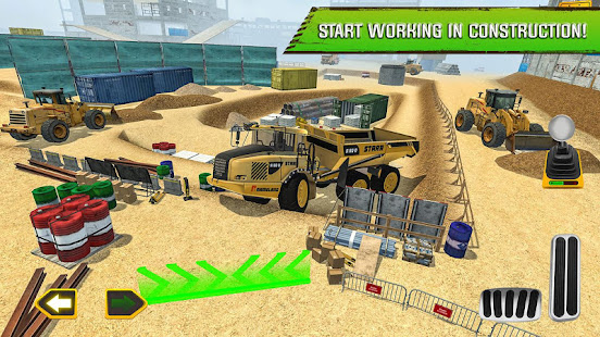 Construction Site Truck Driver v1.3 screenshots 11