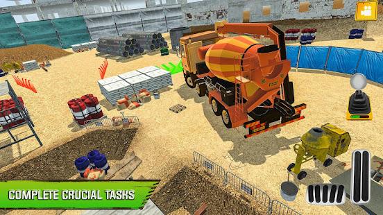 Construction Site Truck Driver v1.3 screenshots 12