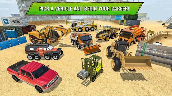 Construction Site Truck Driver v1.3 screenshots 15