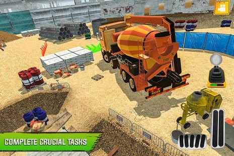 Construction Site Truck Driver v1.3 screenshots 2