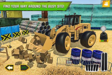 Construction Site Truck Driver v1.3 screenshots 3