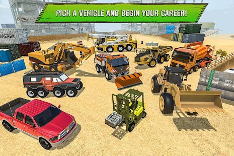 Construction Site Truck Driver v1.3 screenshots 5