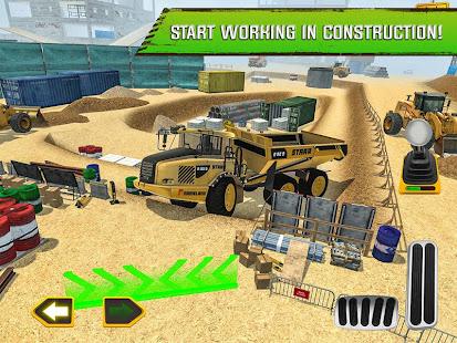 Construction Site Truck Driver v1.3 screenshots 6