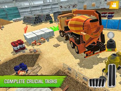 Construction Site Truck Driver v1.3 screenshots 7