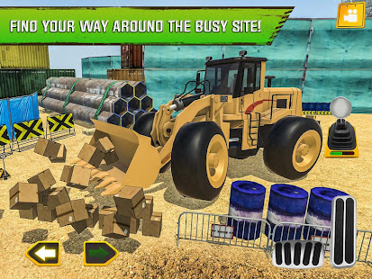 Construction Site Truck Driver v1.3 screenshots 8