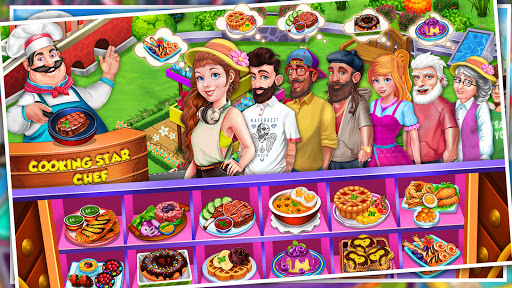 Cooking Star Crazy Kitchen Restaurant Cooking Game v3.6 screenshots 8