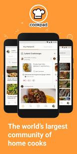 Cookpad – Create your own Recipes v screenshots 1