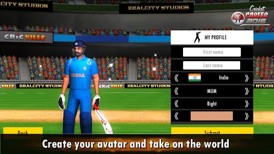 Cricket Career 2016 v screenshots 10