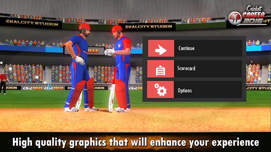 Cricket Career 2016 v screenshots 5