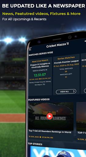 Cricket Mazza 11 Live Line amp Fastest IPL Score v2.14 screenshots 2