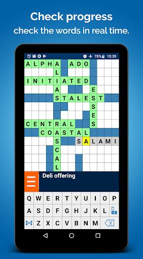 Crossword Puzzle Free v2.7.126-gp screenshots 8