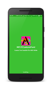 Custom Font Installer For MIUI v2.0 screenshots 1