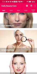 Daily Beauty Care – Skin Hair Face Eyes v2.1.1 screenshots 1