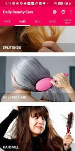 Daily Beauty Care – Skin Hair Face Eyes v2.1.1 screenshots 2