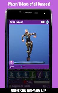 Dances from Fortnite Emotes Shop Wallpapers v screenshots 2