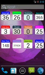 Days Left countdown timer v2.2.1 screenshots 5