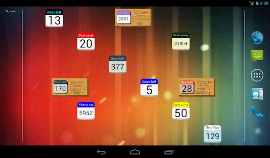 Days Left countdown timer v2.2.1 screenshots 7