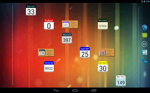 Days Left countdown timer v2.2.1 screenshots 8