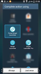 Default choice fixer for Smart Launcher v1.1 screenshots 1