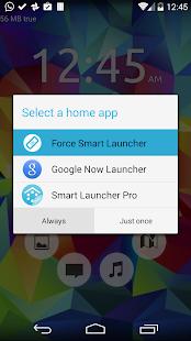 Default choice fixer for Smart Launcher v1.1 screenshots 2