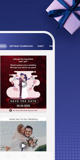 Digital Invitation Card Maker – Video eCards v39.0 screenshots 2
