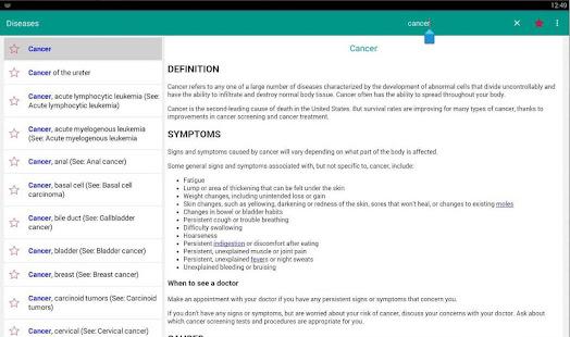 Diseases Dictionary amp Treatments Offline v3.9 screenshots 10