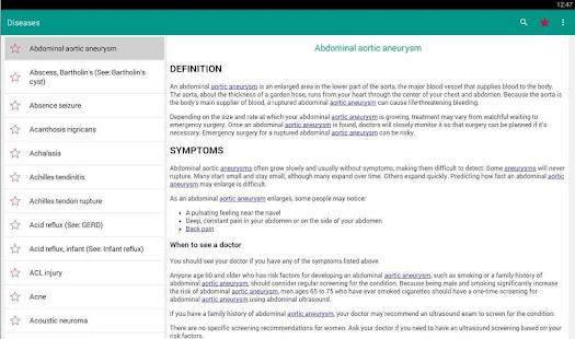 Diseases Dictionary amp Treatments Offline v3.9 screenshots 6