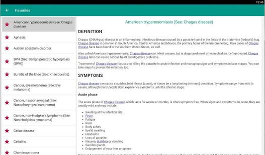 Diseases Dictionary amp Treatments Offline v3.9 screenshots 8
