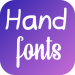 Download Hand Fonts for FlipFont with Font Resizer 2.1.9 APK