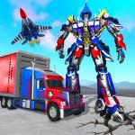Download Indian Police Robot Transform Truck 1.14 APK