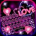 Download Neon Love Keyboard Theme 1.0 APK