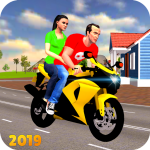 Download Offroad Bike Taxi Driver: Motorcycle Cab Rider 3.2.1 APK