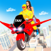 Download Superhero Flying Bike Taxi Driving Simulator Games 11 APK
