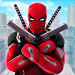 Download Superhero Ninja Battle: Streets Fighting Robot Socem 30 APK