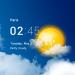 Download Transparent clock and weather – forecast and radar 5.7.0 APK