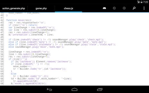DroidEdit free code editor v1.23.6 screenshots 10