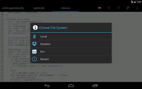 DroidEdit free code editor v1.23.6 screenshots 11