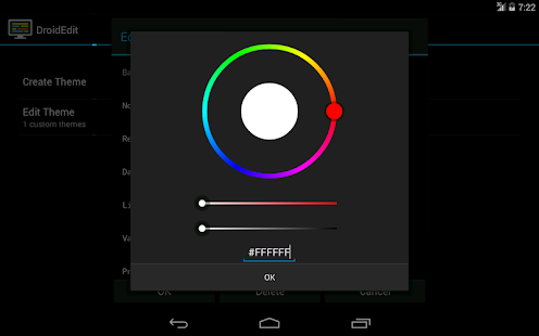 DroidEdit free code editor v1.23.6 screenshots 12