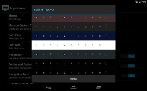 DroidEdit free code editor v1.23.6 screenshots 13