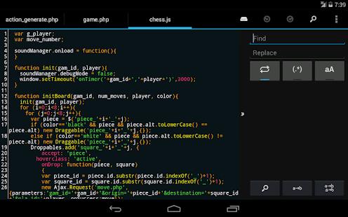 DroidEdit free code editor v1.23.6 screenshots 15