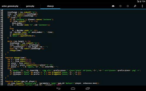 DroidEdit free code editor v1.23.6 screenshots 16