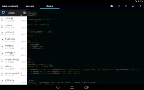 DroidEdit free code editor v1.23.6 screenshots 18