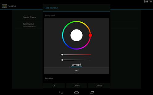 DroidEdit free code editor v1.23.6 screenshots 20