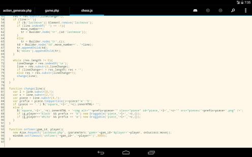 DroidEdit free code editor v1.23.6 screenshots 21