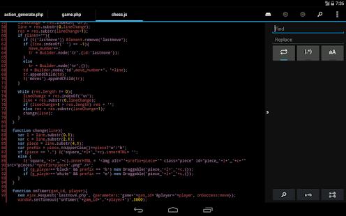 DroidEdit free code editor v1.23.6 screenshots 22